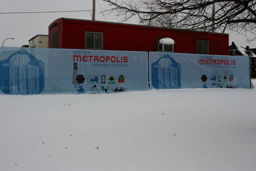 Site of Metropolis:  Past/Future, Present/Future